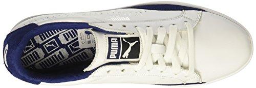 Puma Vrouwen Overeenkomen Lo Klassieke Wn Sneaker Puma Wit-blauw Diepten