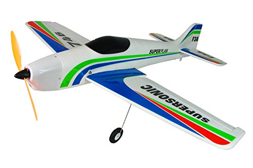 F3A Radio Control Aerobatics RTF EP FM 4CH Brushed RC Sport Airplane 35.5