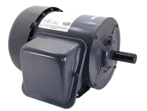 A.O. Smith K214 3 HP, 1800 RPM, 1 Speed, 230 Volts, 16 Amps, 1 Service Factor, 184T Frame, Manual Protector, TEFC Enclosure Farm Duty Motor