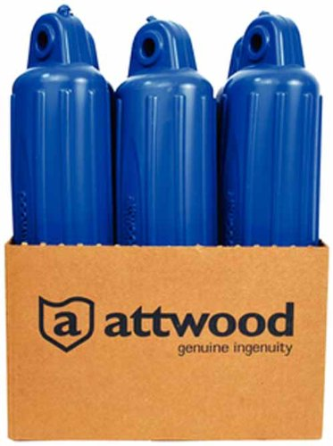 Attwood 9355BD1 Fender, Blue 5X22, Pdq Made by Attwood