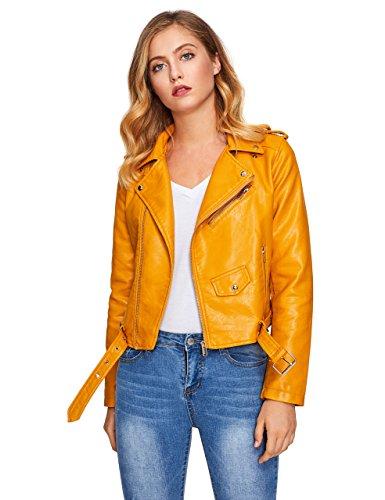 Motorcycle Jacket Yellow - 4
