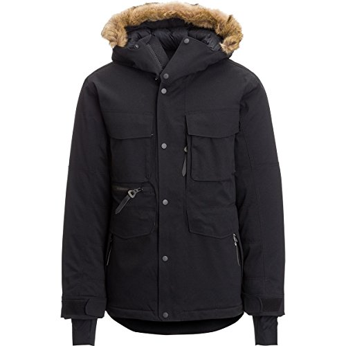 Down Mens Parkas - Mountain Hardwear GrandExplore Down Parka - Men's Black, XL