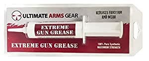 Ultimate Arms Gear Pro Armorer's 100% Synthetic Maximum Strength Extreme Gun Grease Cleaner Lubricant Reduces Friction & Wear for Firearms Pistols, Revolvers, Rifles, Shotguns & Auto Weapons
