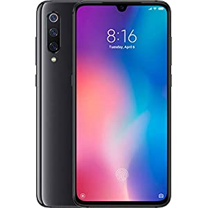 Xiaomi Mi 9 64GB + 6GB RAM – 48MP Ultra High Resolution Camera LTE Factory Unlocked GSM Smartphone International Global Version – Includes A Free 232Tech Adapter (Piano Black)