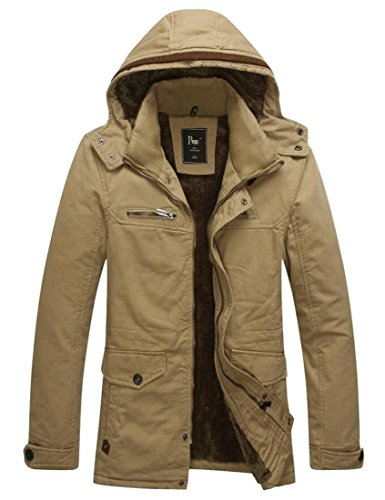 Windbreaker Trencfh Outdoor Coat 2 amp;W Cotton Jacket Men's M amp;S Casual Pqg1Iy