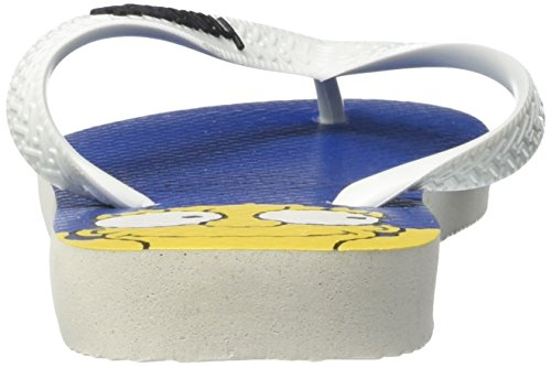 Havaianas Simpsons, Chanclas Unisex Adulto Multicolor (White 0001)
