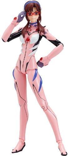 Amazon Com Max Factory Evangelion 2 0 Makinami Mari Illustrious Figma Action Figure New Plugsuit Ver Toys Games