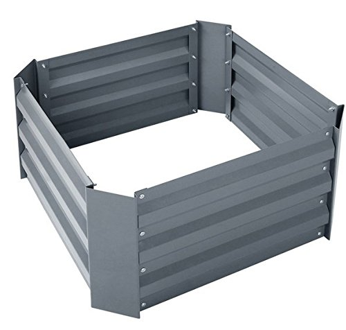 Steel Raised Garden Bed Kit 1 Galvanized steel beds are durable, they don't rot, and they don't breakdown in extreme weather or sun Easy to assemble design gets your garden up and running quickly; spend more time gardening Raised beds and planters promote plant growth and allow for healthier root development