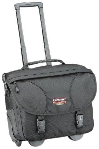 (Tamrac 5261 Black CyberPro Flyer Rolling Photo/Laptop Briefcase (Black))