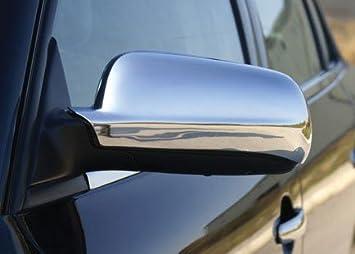 Carcasas espejo cromadas fabricado en plástico ABS 2 piezas: Amazon.es: Coche y moto