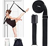 Price Xes Adjustable Leg Stretcher Lengthen Ballet Stretch Band - Easy Install on Door Flexibility Stretching Leg Strap Great Cheer Dance Gymnastics Trainer Stretching Equipment Taekwondo Training