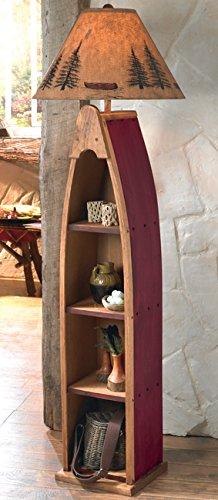 - Canoe Shelf Floor Lamp