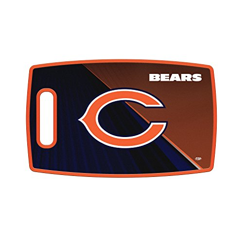 Sports Vault NFL Chicago Bears Large Cutting Board, 14.5