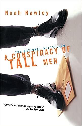 Amazon.com: A Conspiracy of Tall Men (9780671038243): Hawley, Noah: Books