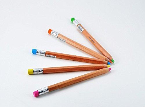 Kikkerland Set of 3 Mechanical Wooden Pencils