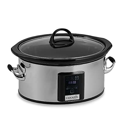 Professional Crock-pot® 6.5-quart ElumeTM Touchscreen Slow Cooker