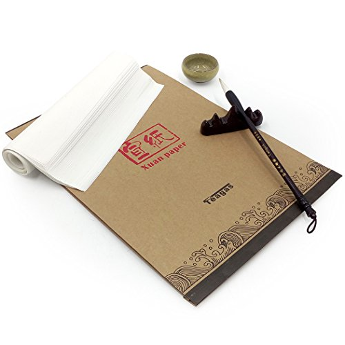 Teagas Chinese Calligraphy Brush Ink Writing Sumi Paper