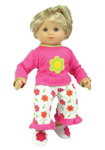 Amazon Com 15 Inch Baby Doll Pajamas By Sophia S Fits American