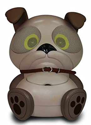 Electric Friends Chew Chew the Dog Speaker Docking Station for iPod and iPhone by Electric Friends