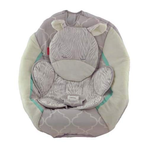Fisher-Price Safari Dreams Cradle 'n Swing #CHM76 – Replacement Pad/Cover – Giraffe – Gray and Creme