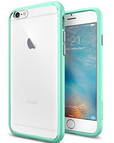 (Spigen Ultra Hybrid iPhone 6S Case with Air Cushion Technology and Hybrid Drop Protection for iPhone 6S 2015 - Mint)