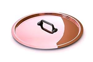 "Mauviel 6548.24 M'Hertiage M250C 9.5"" Lid, Copper"