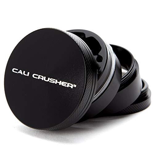 Cali Crusher Herb Grinder 4 Piece Black