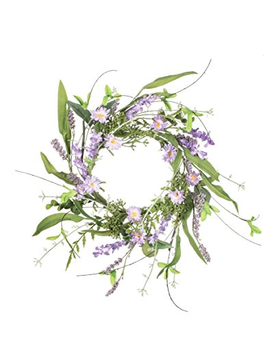 Sullivans-45-Artificial-Lavender-Wreath