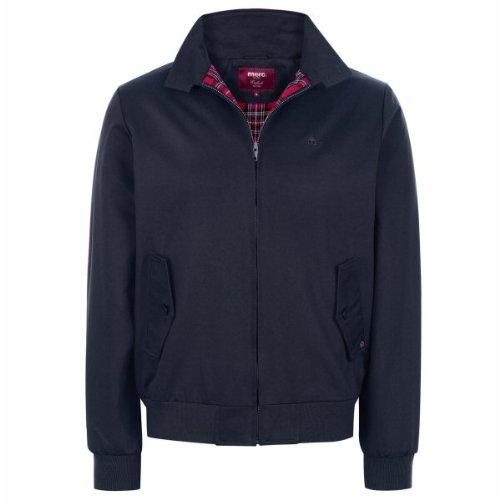 Merc London Mens Harrington Jacket Navy M (Best Harrington Jacket Brand)
