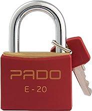 Pado 51016410, Cadeado Sm Lt-20Mm, Multicolor