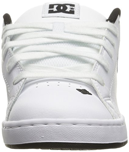 DC Shoes Court Graffik Se Shoe D0300927, Scarpe Sportive Uomo White/Charcoal
