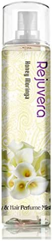 Rejuvera Korea Cosmetic Honey Moringa Fragrance All-Over Body & Hair Essence Perfume Mist 4.3oz