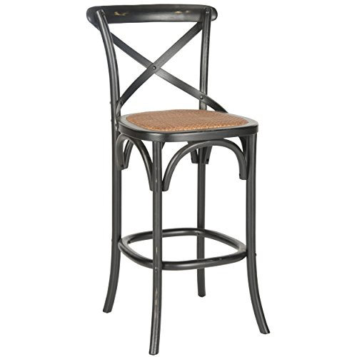 Great American Bar Stools Oak Bar Stools (Safavieh American Homes Collection Franklin Hickory Oak 30.7-inch Bar Stool)