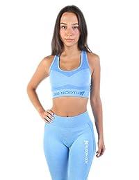 Jed North Women's Seamless Gym Fitness Workout Sports Bra