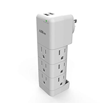 Amazon.com: AHRISE - Protector de sobretensión, cargador de ...