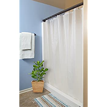 Heavy 6G PEVA Frosted Shower Curtain Liner
