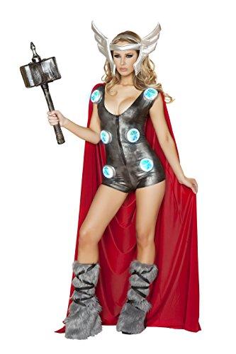 Asgardian Costumes (Women Sexy Asgardian Queen Costume By Nelasportswear (Large))
