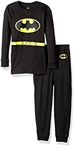 Intimo Toddler Boys' Long Sleeve Batman Pajama Set at Gotham City Store