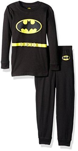 DC Comics Boys Long Sleeve Batman Pajama Set