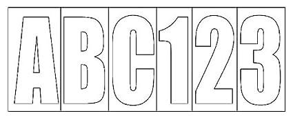 Amazon.: Invincible Marine BR52308 Letter/Number Kit Block, 3