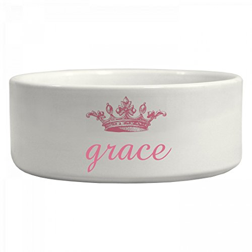 Princess Grace Doggie Bowl: Ceramic Pet Bowl