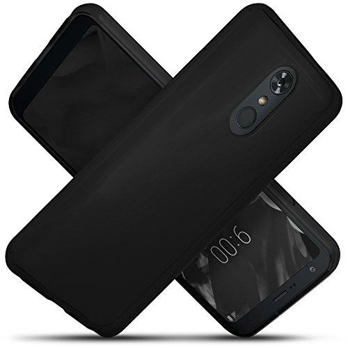 - Celljoy Case compatible with LG Stylo 4, LG Stylus 4, LG Q Stylo 4 [[Slim Grip TPU]] (Micro Dot Liner) Super Slim - High Impact Shock Proof - Thin Bumper - Minimal - Bump & Scratch Protection (Black)