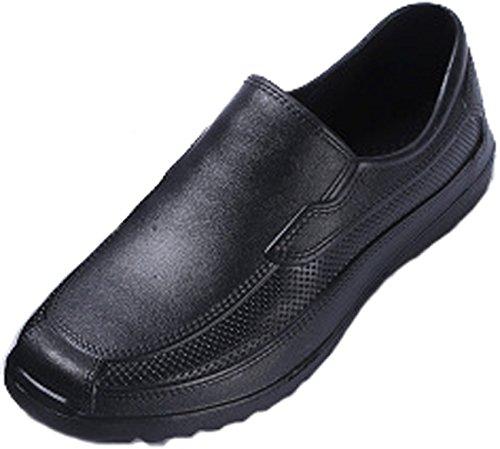 - S.S Men's Ultralite Tracker Working Shoe Pro Work Men's Balder Slip Resistant Work Clog (11 B(M) US-CN45, Black)