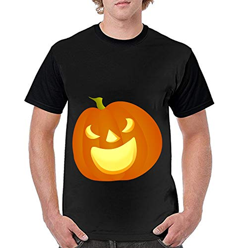 Unisex 3D Squash Pumpkin Carved Halloween Pattern Printed Short Sleeve T-Shirts Casual Graphics -