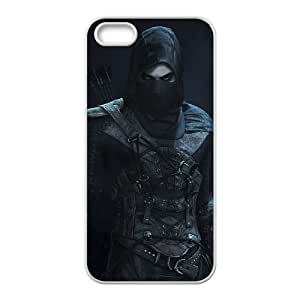 Thief iPhone 5 5s Cell Phone Case White PSOC6002625707443