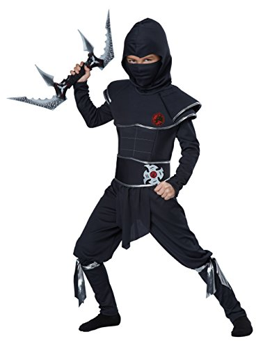 [California Costumes Ninja Warrior Child Costume, Large] (White Ninja Costumes For Kids)
