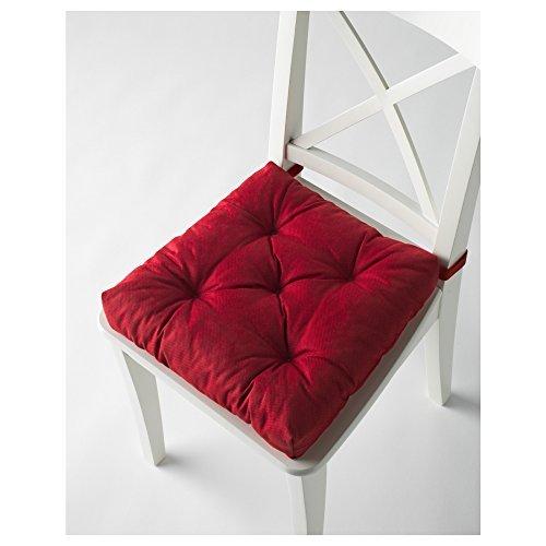 Ikeas MALINDA Chair cushion (4, Red)