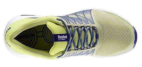 Reebok - Zapatillas para deportes de interior de Material Sintético para mujer Amarillo Gelb-Blau 40