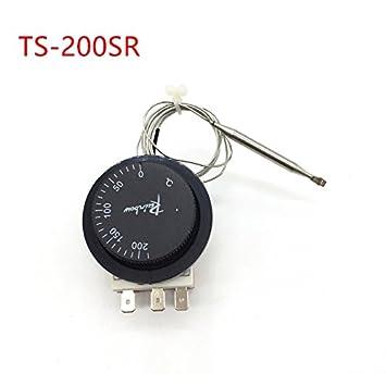 ts-200sr Corea arco iris termostato sin rosca, 50 – 200 Celsius interruptor de