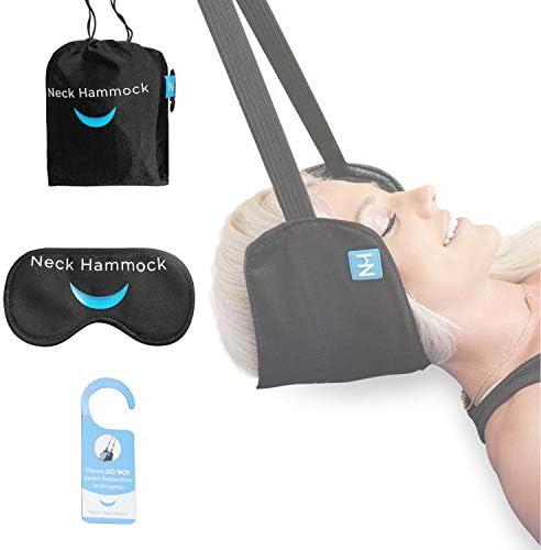 The Neck Hammock Tragbares Zervix-Traktionsgerät zur Linderung von Nackenschmerzen und zur Physiotherapie